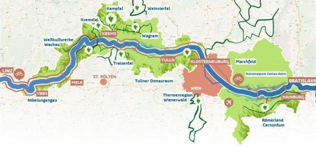 Szlak Rowerowy Brzegiem Dunaju Bikeground Pl